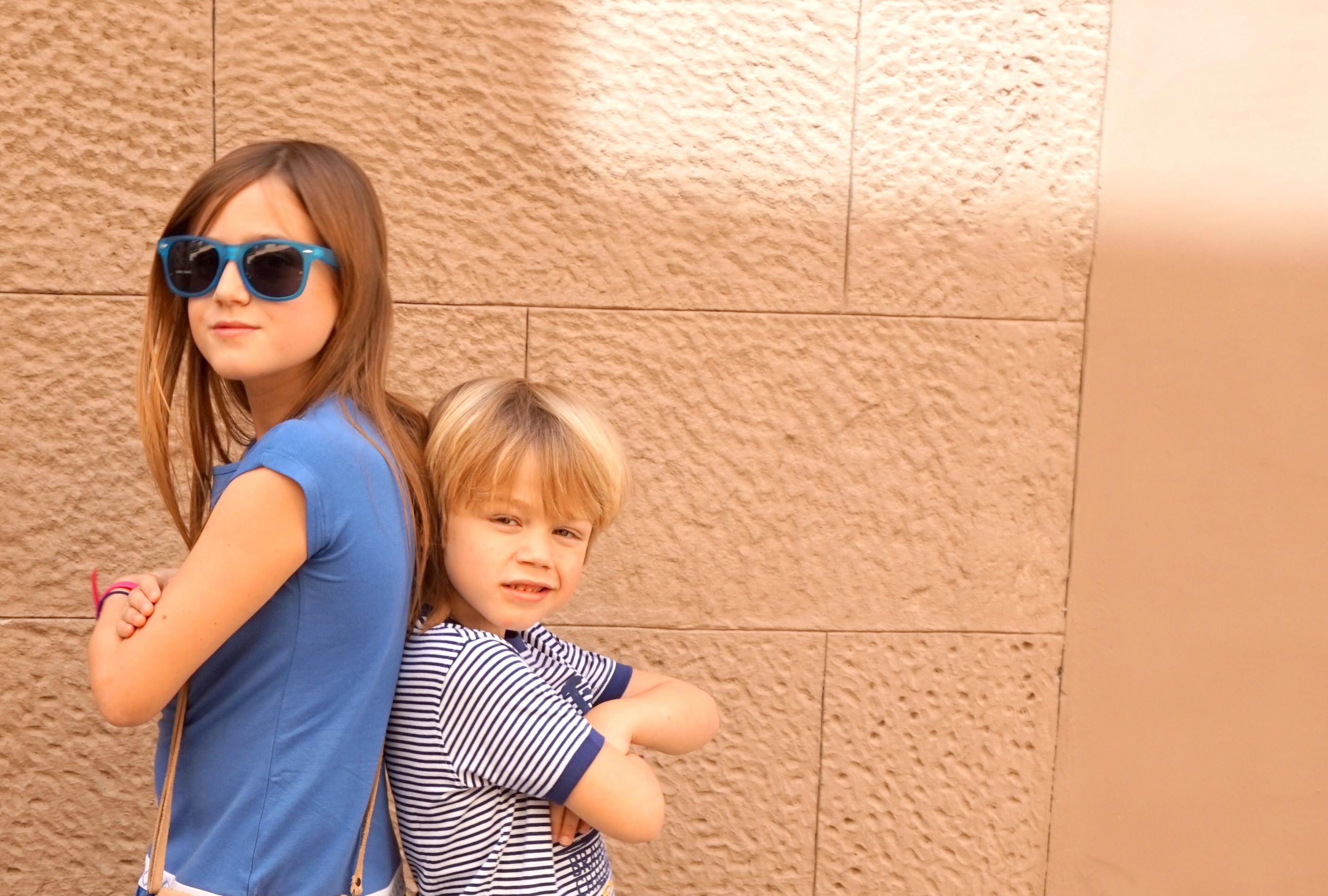 UBS2 ropa glamourosa para los niños de hoy
