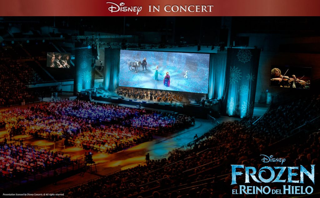 Concierto de Frozen en Barcelona - In love with Karen