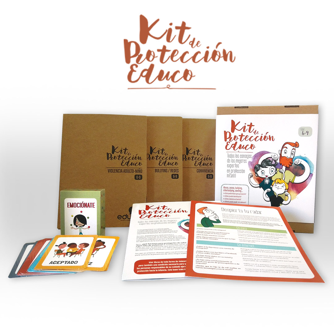 Kit Proteccion Educo- In love with Karen