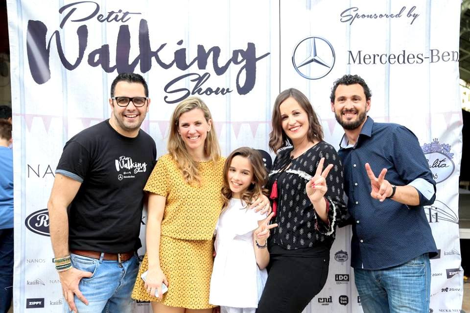 María Querol en Petit Walking Show de Valencia