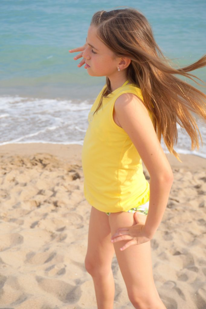 En la playa con Bimbalina . InlovewithKaren