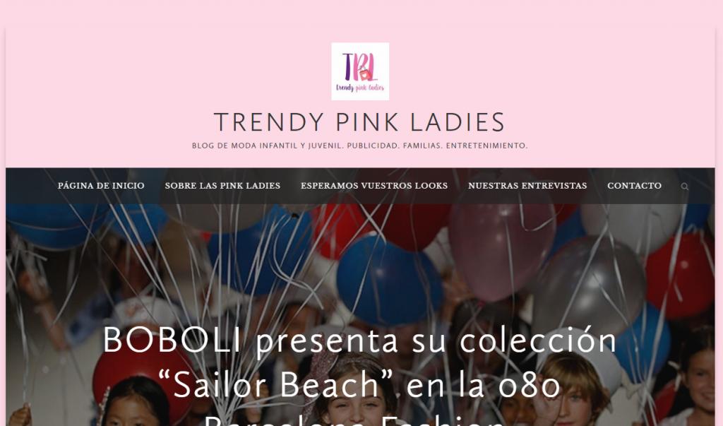 Trendy Pink Ladies - In love with Karen