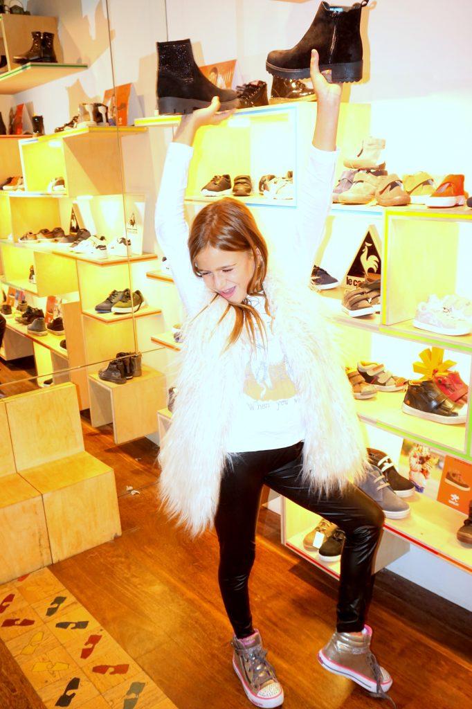 Karen en Casas Shoes