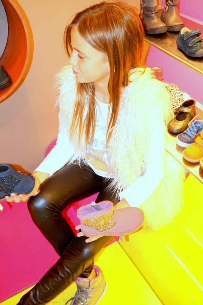 Rosa y Azul en CASAS Shoes