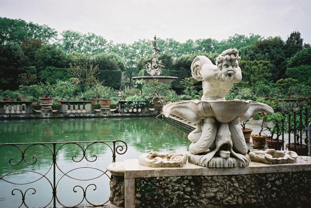Jardines Bóboli en Firenze