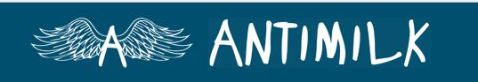 Logo AntiMilk - In love with Karen