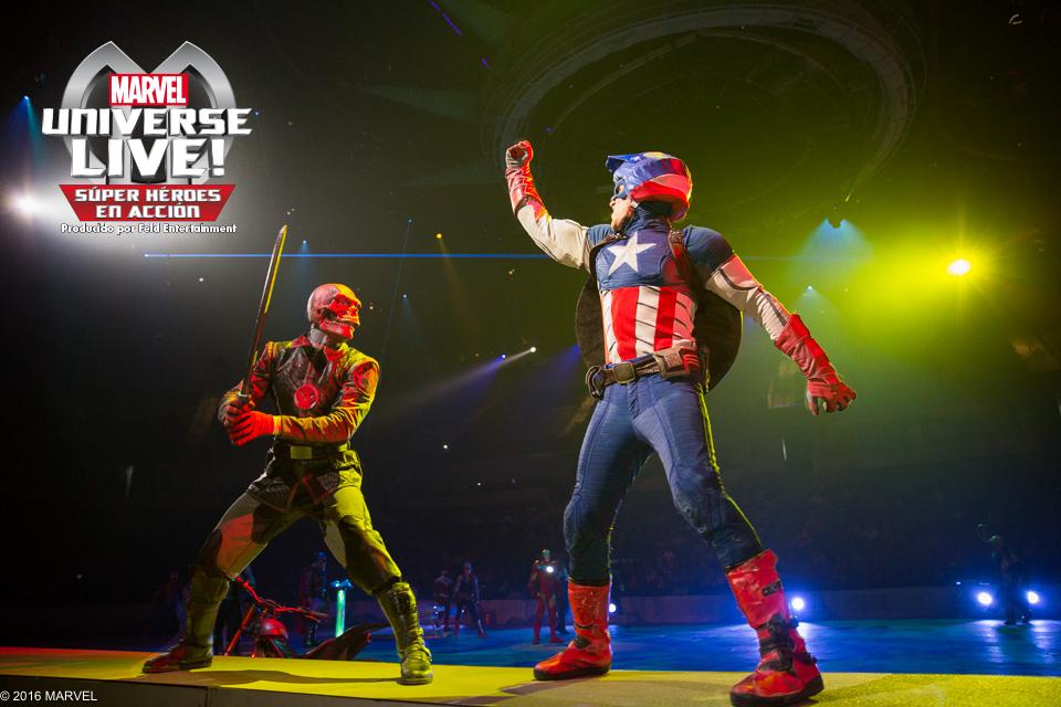 Marvel Universe in Live Barcelona