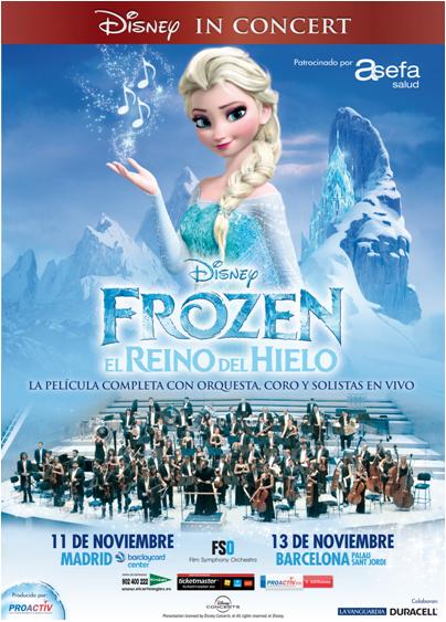 Frozen en concierto